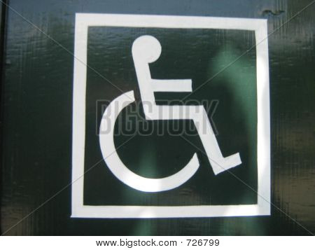 Disable Sign, Access To Disable People