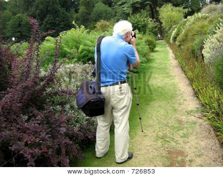 A Photographer Taking Photo