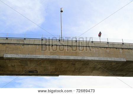 Bridge in sky