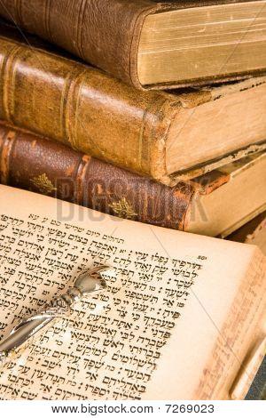 Torah Pointer On Parchment