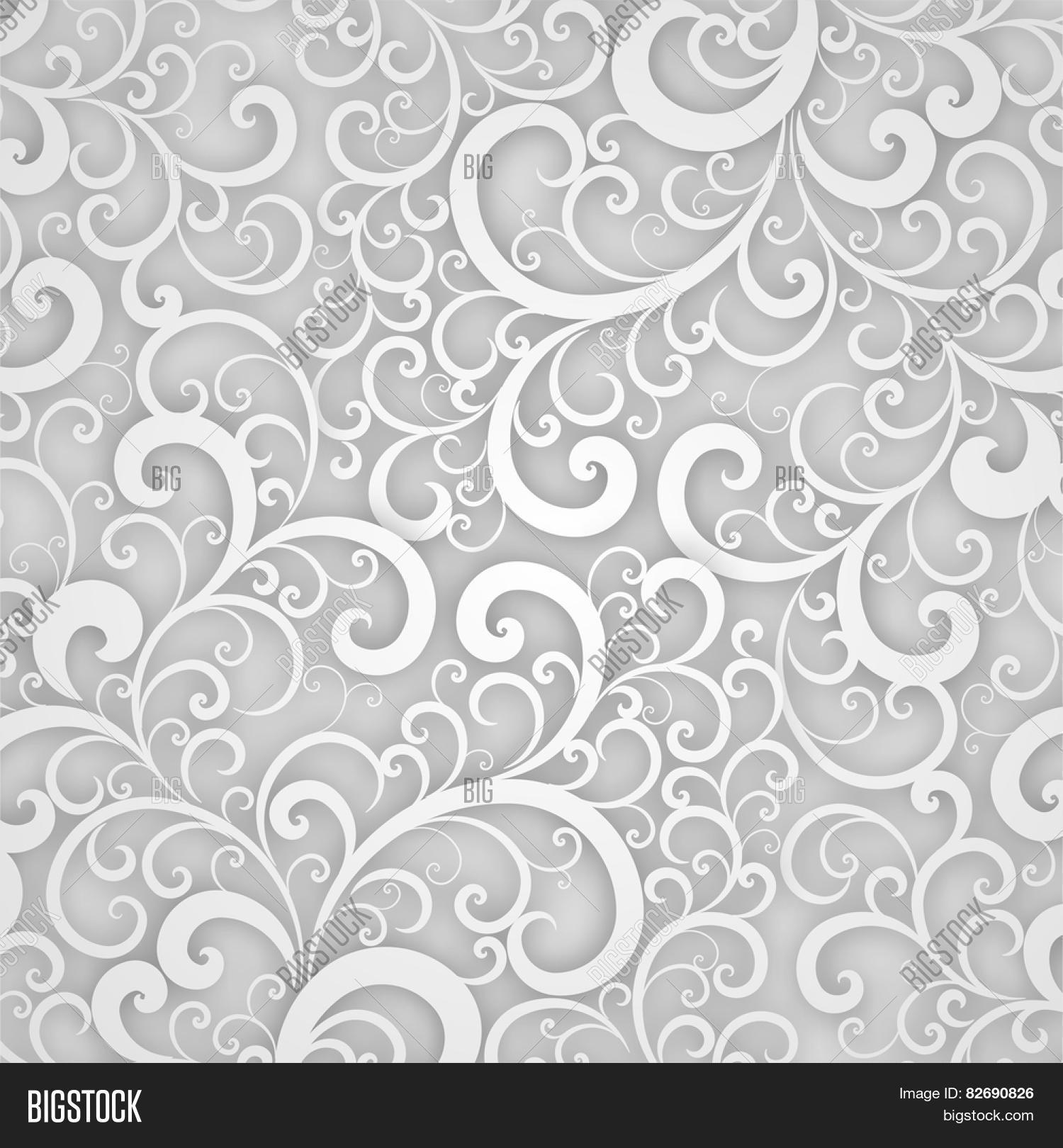 Vector floral pattern abstract 3d vector photo bigstock vector floral pattern abstract 3d background for invitation cards banners placard and posters stopboris Choice Image