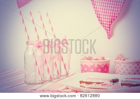 pink girls party