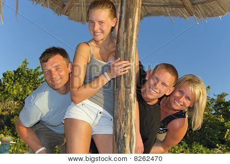 Family in Cuba
