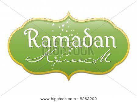 'Ramadan Kareem' unit