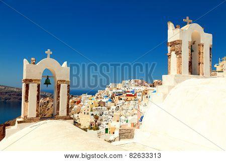 Churches in Santorini