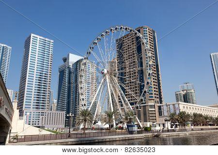Ferris Wheel In Sharjah City