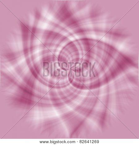 Soft Pastel Colored Floral Ornament