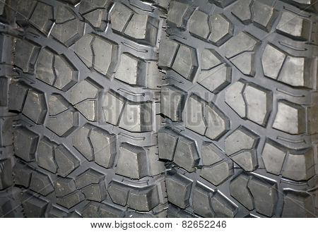 Tire Track Off Road