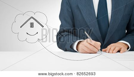 Sign Mortgage