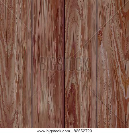 Realistic dark wooden texture. Vector illustration.