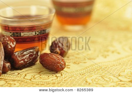 Dates and a cup of tea