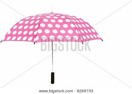 Umbrella On White Isolated Background