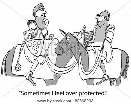 Over Protected Knight