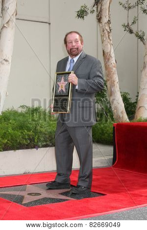 LOS ANGELES - JAN 28:  Ken Ehrlich at the Ken Ehrlich Hollywood Walk of Fame Star Ceremony at a Capital Records Building on January 28, 2015 in Los Angeles, CA