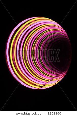 Neon Tube Tunnel