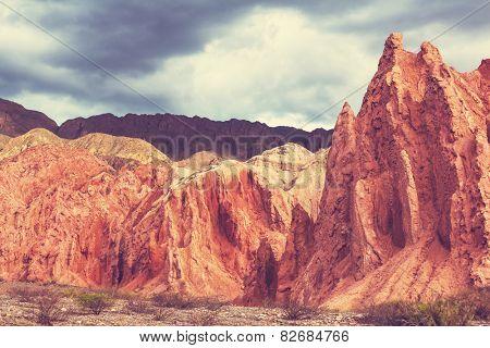 Landscapes in Northern Argentina