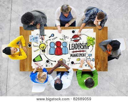 Diversity People Leadership Management Communication Team Meeting Concept