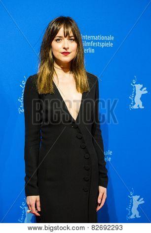 BERLIN, GERMANY - FEBRUARY 11: Actress Dakota Johnson, 'Fifty Shades of Grey' premiere. 65th Berlinale International Film Festival at Zoo Palast on February 11, 2015 in Berlin, Germany.