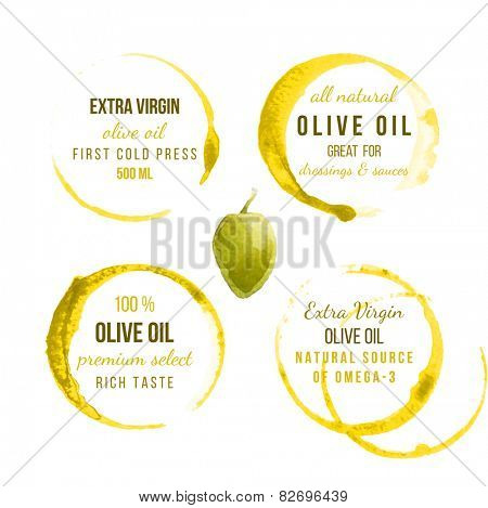 9 oil stains traces with type designs