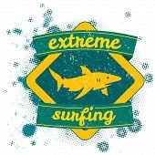 vector illustration drawing.California surf beach. summer tropical heat print wave surf riders legendary vector t-shirts print poster
