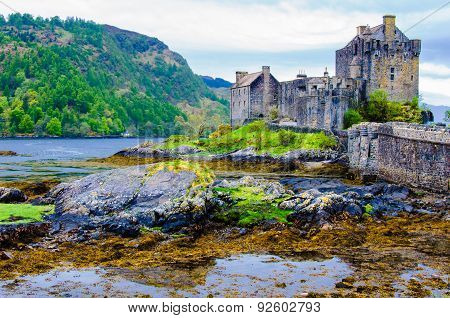 Eilean Donan Castle In Scotland, Uk