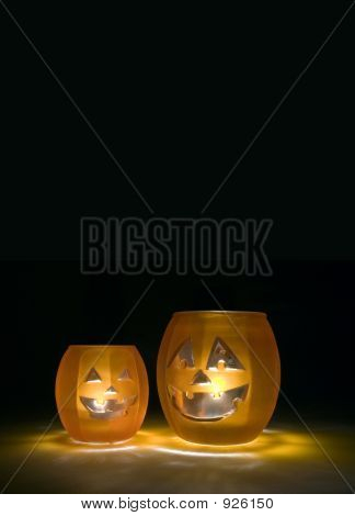 Jack O Lantern Halloween Candles