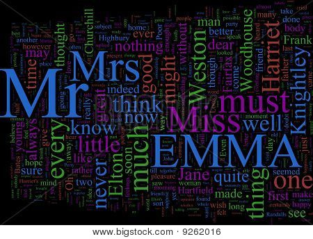 Word Cloud: Emma