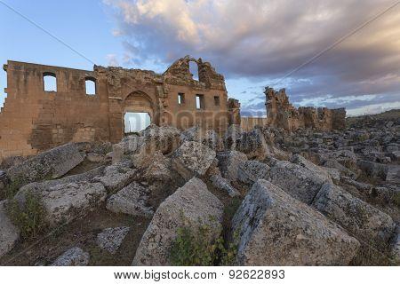 Ruin Of First University In Turkey.