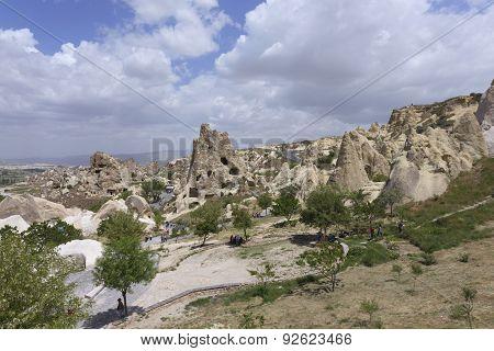 Goreme Open Air Musuem In Cappadocia, Turkey