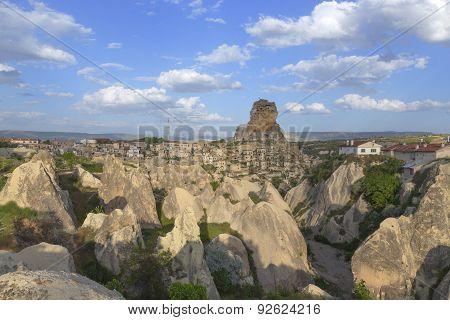 Urgup In Cappadocia, Turkey