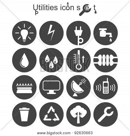 Utilities Icon Set