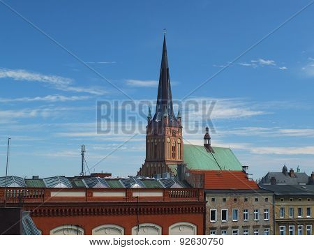 Cathedral in Szczecin