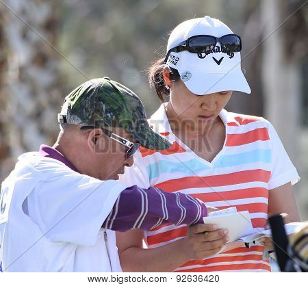 Cindy Feng At The Ana Inspiration Golf Tournament 2015