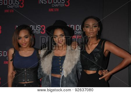LOS ANGELES - JUN 4:  China Anne McClain, McClain Sisters at the