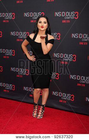 LOS ANGELES - JUN 4:  Becky G at the