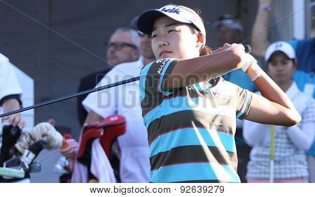 Ilhee Lee At The Ana Inspiration Golf Tournament 2015