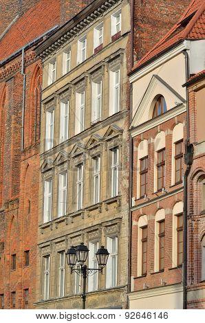 Old Town of Torun, Poland.
