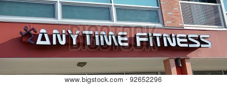 Anytime Fitness Gym Logo