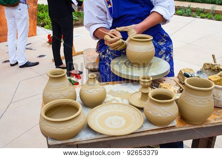 Making Clay Pot