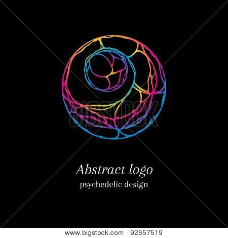 Abstract Psychedelic Logo