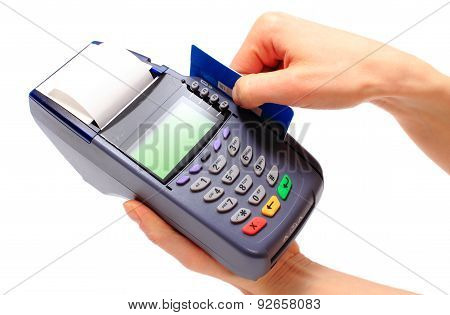 Paying With Credit Card, Finance Concept
