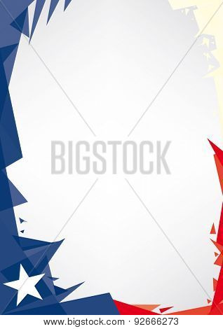 background origami of Texas. Background origami of Texas. a design background (Origami style) for a very nice texan poster