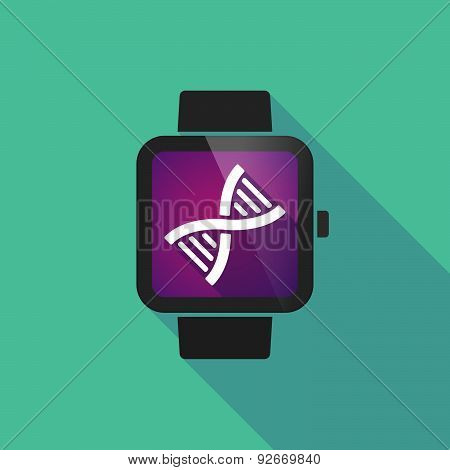 Smart Watch With A Dna Sign