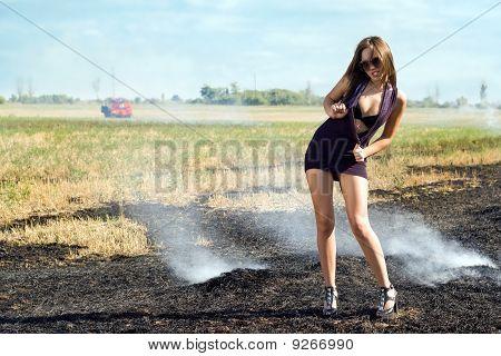 Playful Woman