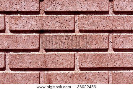 Red Stylized Brick Wall Texture.