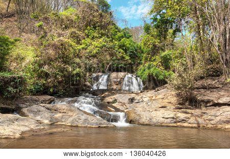 Mae Sa Waterfall National Park In Mae Rim, Chiang Mai, Thailand