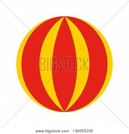 circus ball isolated icon design, vector illustration  graphic