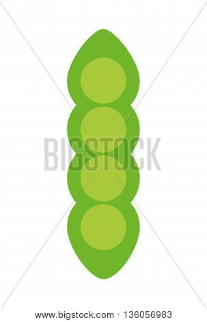 fresh vegetable isolated icon design, vector illustration  graphic