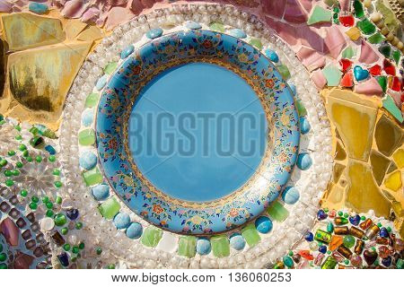 Chinaware Dish Background