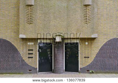 Yellow Brick Entrance